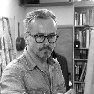 Gary Myatt, mural artist, tromp l'oeil artist, artist, painter, UK